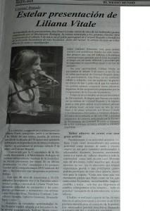 Liliana Vitale- diario el medio mundo- Coronel Bogado- mayo 2015