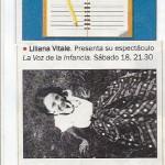Liliana Vitale- revista veintitrés agenda 17-4-2015