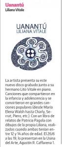 UANANTÚ- La Razón discos-suple Te suena-22-6-2016